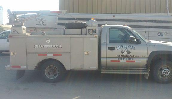 Silverback Mechanical Services company | Close up truck